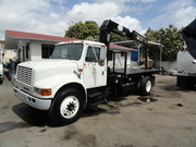 1994 INTERNATIONAL 4900 TICO 1080T KNUCKLEBOOM