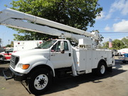 Bucket/Boom Altec AA-755 MH 2000 Ford F-750